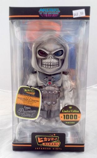 Masters Of The Universe Hikari Sofubi 'Greyskull Skeletor 19cm' Vinyl Action Figure